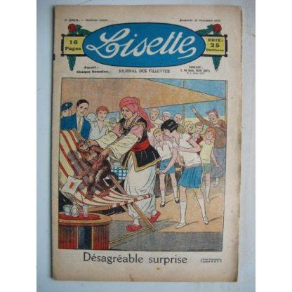 LISETTE n°385 (25 novembre 1928) Désagréable surprise (Louis Maîtrejean) Le flacon de parfum (Colette May Pattinger)