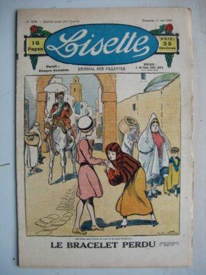 LISETTE N°19 (11 mai 1930) Le bracelet perdu (R. de la Nézière) Le rêve de Jeanne d'Arc (Levesque)