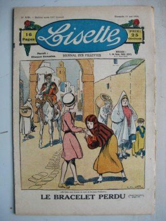 LISETTE n°19 (11 mai 1930) Le bracelet perdu (R. de la Nézière) Le dernier rêve de Jeanne d'Arc (Levesque)