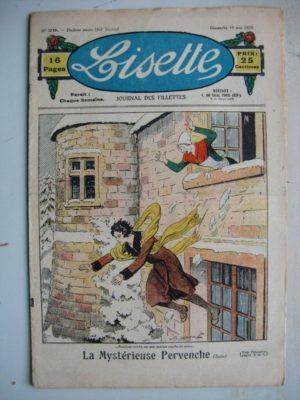 LISETTE N°20 (18 mai 1930) Les sabots de Marie-José (Madeleine Léonce Petit) Poupée Lisette (Manteau de demi saison)