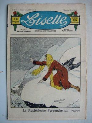 LISETTE N°21 (25 mai 1930) La mystérieuse pervenche (Emile Dot) Pique-nique mouvementé (Colette May Pattinger)