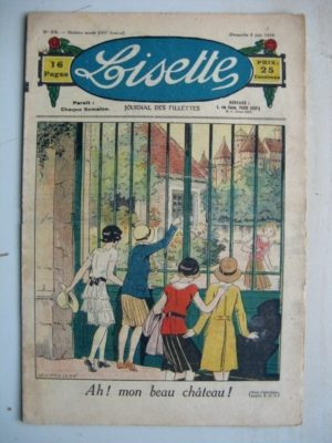 LISETTE N°23 (8 juin 1930) Le beau château (Louis Maîtrejean) Cricri, coiffeur pour dames (Madeleine Léonce Petit)