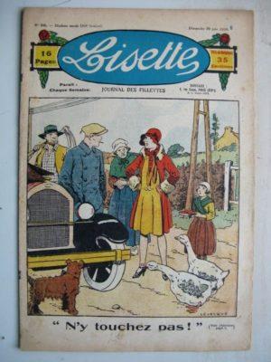 LISETTE n°26 (29 juin 1930) N'y touchez pas (Le Rallic) Poupée Lisette (Robe en toile)