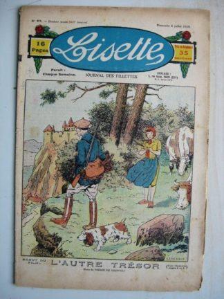 LISETTE n°27 (6 juillet 1930) L'autre trésor (Le Rallic) Seule (Madeleine Léonce Petit)