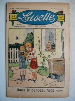 LISETTE N°29 (20 juillet 1930) Le berceau vide (Georges Bourdin)