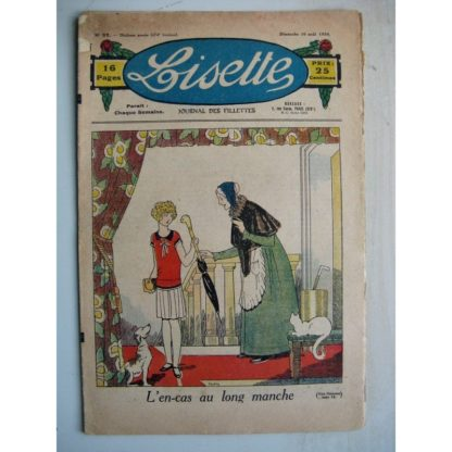 LISETTE n°32 (10 août 1930) L'en-cas au long manche (Louis Maîtrejean) Espoir déçu (Th. Barn)