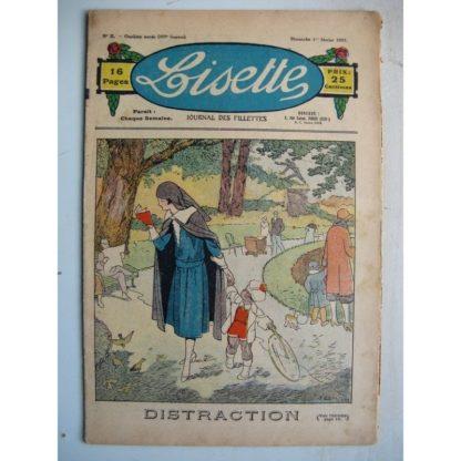 LISETTE n°5 (1er févier 1931) Distraction (Louis Maîtrejean) Pauvre petit (Th. Barn)