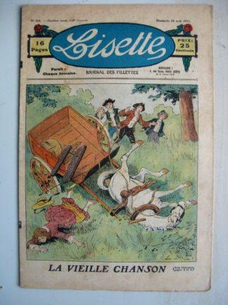 LISETTE n°34 (23 août 1931) La vieille chanson (Emile Dot) La belle étoile (Yves Gohanne)
