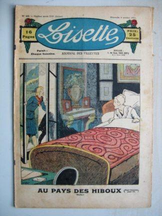LISETTE n°40 (4 octobre 1931) Au pays des hiboux (Louis Maîtrejean) Katine la sorcière (Emile Dot - Gaël de Saillans)