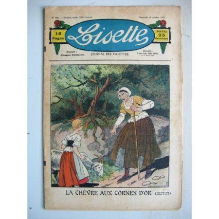 LISETTE n°42 (18 octobre 1931) La chèvre aux cornes d'or (Louis Maîtrejean)