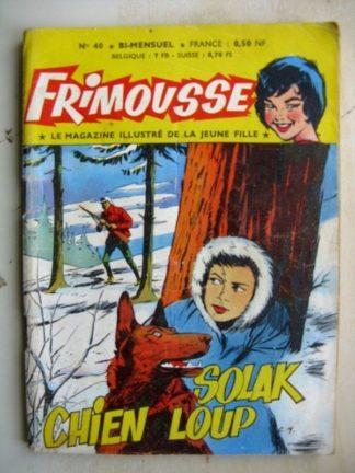FRIMOUSSE N°40 Solak chien loup (Châteaudun 1960)