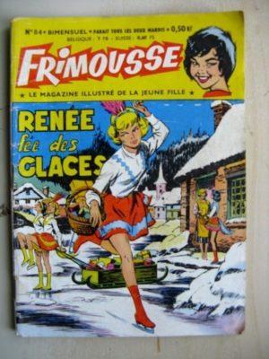 FRIMOUSSE N°84 Renée fée des glaces – Pierrette Bruno (Châteaudun 1961)