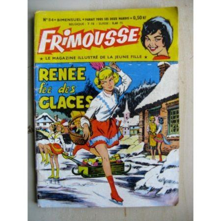 FRIMOUSSE N°84 Renée fée des glaces - Pierrette Bruno (Châteaudun 1961)
