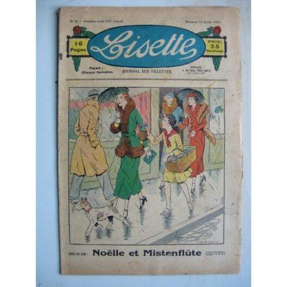 LISETTE n°3 (17 janvier 1932) Noëlle et Mistenflûte (Le Rallic) La conversion de l'Ogre (Louis Maîtrejean)