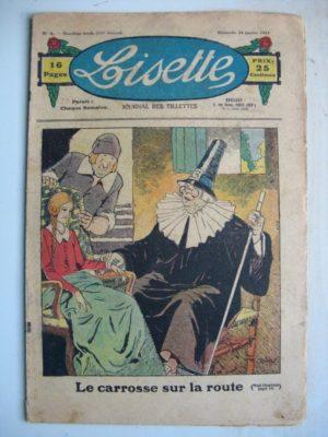 LISETTE N°4 (24 janvier 1932) Noëlle et Mistenflûte (Le Rallic) Poupée Lisette (Blouson chemisier)