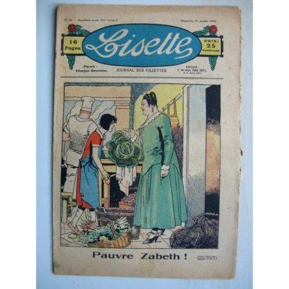 LISETTE n°5 (31 janvier 1932) Pauvre Zabeth (Louis Maîtrejean) Noëlle et Mistenflûte (Le Rallic)