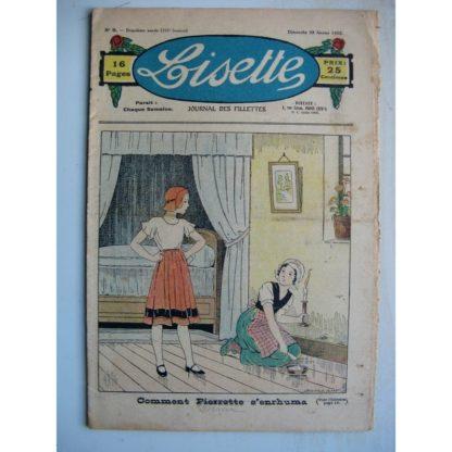 LISETTE n°9 (28 février 1932) Pierrette s'enrhuma (Louis Maîtrejean) Noëlle et Mistenflûte (Le Rallic)