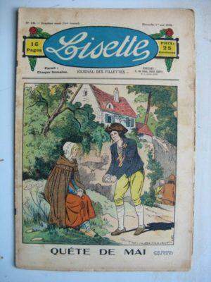 LISETTE N°18 (1er mai 1932) Quête de mai (Louis Maîtrejean) Poupée Lisette (Robe coquette)