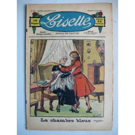 LISETTE n°20 (15 mai 1932) La chambre bleue (Raymond de la Nézière) Poupée Lisette (Ensemble blouse et jupe)