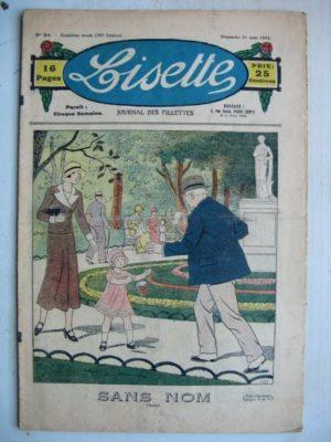 LISETTE n°34 (21 août 1932) Sans nom (Louis Maîtrejean) Une récompense (Th. Barn)
