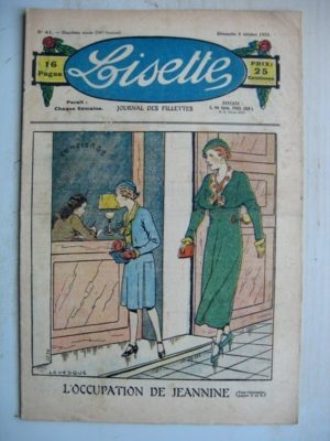 LISETTE N°41 (9 octobre 1932) L'occupation de Jeannine (Le Rallic)