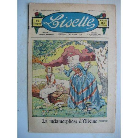 LISETTE n°45 (6 novembre 1932) La métamorphose d'Olivine (Louis Maîtrejean) Trois curieuse (Matéja)