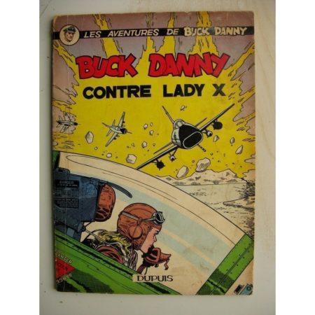 Buck Danny - 17 - Buck Danny contre Lady X (1958) Edition Originale Belge (EO)