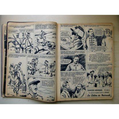 Junior les Grands Héros n°1-6-7-8-9-10 Urk n°1-4 - Editions des Remparts 1954