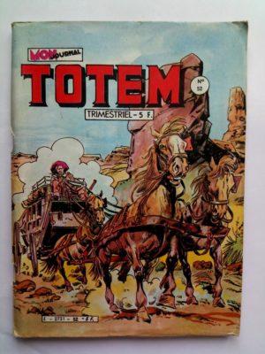 TOTEM 2E SERIE N°52 HORS LA LOI – LA FILLE DU RIVER BELLE (Mon Journal 1983)