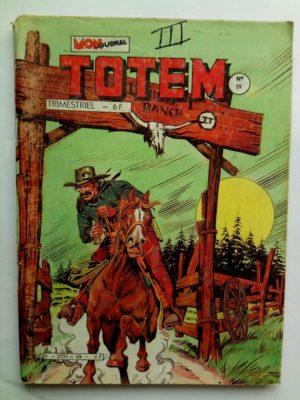 TOTEM 2E SERIE N°59 – DOUBLE T RANCH (Mon Journal 1985)