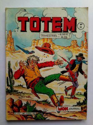 TOTEM 2E SERIE N°64 – DECISIVE RENCONTRE (Mon Journal 1986)