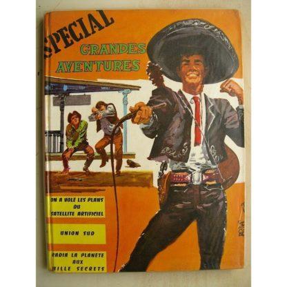 SPECIAL GRANDES AVENTURES ALBUM N°6 (n°16-17-18) Pionniers de l'espérance - Sam Billie Bill ( Vaillant 1962)