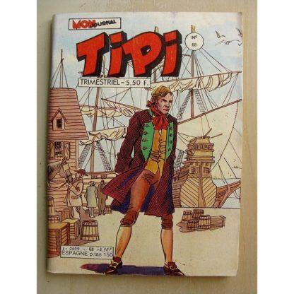 TIPI N°68 KRIS LE SHERIF (l'héritage) DEREK (coup de poing) BEN HOGAN (la longue recherche) Mon Journal 1984
