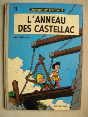 JOHAN ET PIRLOUIT TOME 11 – L'anneau des Castellac (Peyo) Dos Rond Dupuis 1974