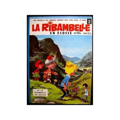 LA RIBAMBELLE EN ECOSSE - ROBA / VISCQ DUPUIS 1966 EO