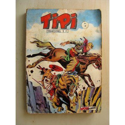 TIPI N°4 PECOS BILL - CAPITAINE BRITTLES - LES QUATRE MAGNIFIQUES (Mon Journal 1968)