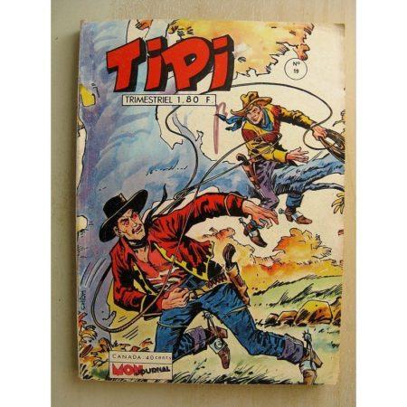 TIPI N°19 PECOS BILL (l'ombre du passé) SILVER SCOUT (le complot) Mon Journal 1972