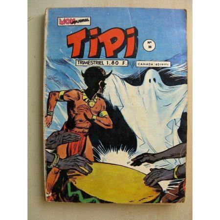 TIPI N°20 PECOS BILL (la colline de la paix) SILVER SCOUT (le secret d'Anna) Mon Journal 1972