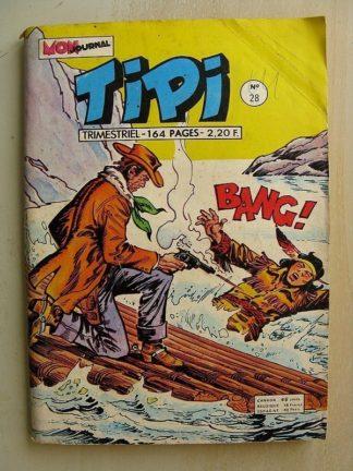 TIPI N°28 PECOS BILL (Héros légendaire) TOTANKA (Hold Up à Berksand) YANKEE Mon Journal 1974