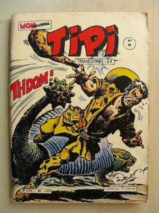 TIPI N°4 PECOS BILL - KRIS LE SHERIF (les deux hors la loi) LA VALLEE PREHISTORIQUE (la fin d'un monde) Mon Journal 1980