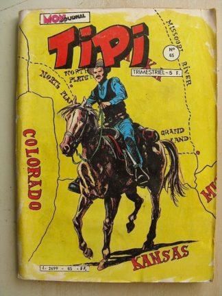 TIPI N°65 KRIS LE SHERIF (la peur) DEREK (marche ou crève) MARSHAL JIM (le magicien) YANKEE Mon Journal 1983