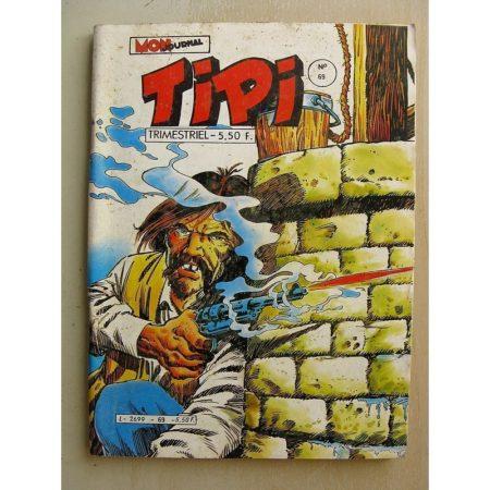 TIPI N°69 KRIS LE SHERIF (Lizzie) DEREK (le duel) BEN HOGAN (la traque) Mon Journal 1984