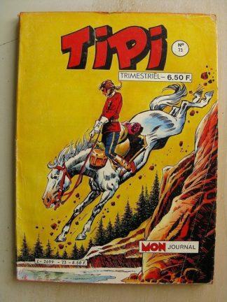 TIPI N°73 KRIS LE SHERIF (Oklahoma city) PLUME ROUGE (le mustang) BEN HOGAN (Mallwax) Mon Journal 1985