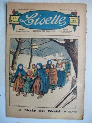 LISETTE n°51 (18 décembre 1932) Soir de Noël (Le Rallic) La marraine de Cendrillon (Noël Tani)