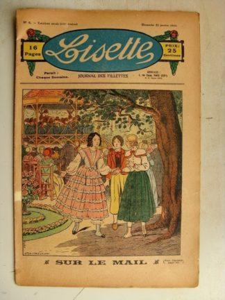 LISETTE n°4 (22 janvier 1933) Le bon remède (Pierre Soymier) Poupée Lisette (Robe gracieuse)