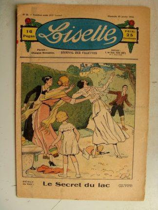 LISETTE n°5 (29 janvier 1933) Le secret du lac (Emile Dot) Lucette (René Louys)