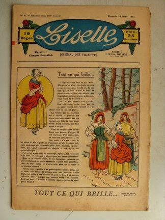 LISETTE n°9 (26 février 1933) Tout ce qui brille (Le Rallic) Droit d'ainesse (Edmond Targis)