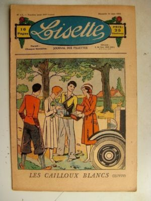 LISETTE N°11 (12 mars 1933) Les cailloux blancs (Louis Maîtrejean)
