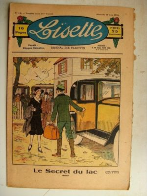 LISETTE N°13 (26 mars 1933) Le secret du lac (Emile Dot) Un bienfait (René Louys)