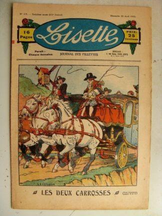 LISETTE n°17 (23 avril 1933) Les deux carosses (Le Rallic)